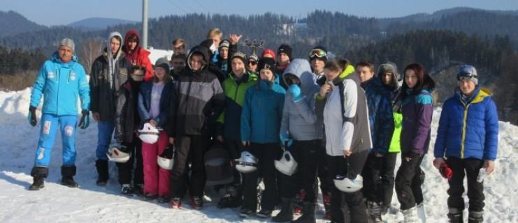Lyžařský kurz 2018