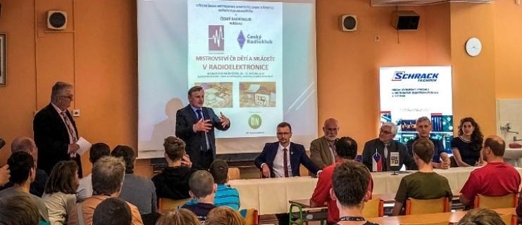 Mistrovství ČR v radiotelektronice dětí a mládeže 2019