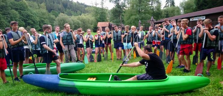 Vodácký kurz 2 - Vltava 2019