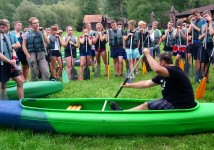 Obrázek k aktualitě Vodácký kurz 2 - Vltava 2019