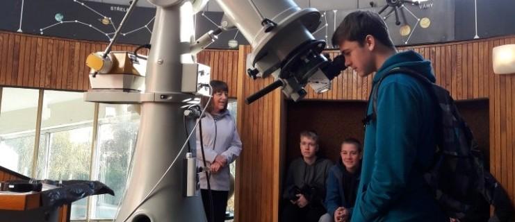 Tematická exkurze ve Hvězdárně Valašské Meziříčí