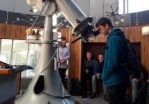 Obrázek k aktualitě Tematická exkurze ve Hvězdárně Valašské Meziříčí