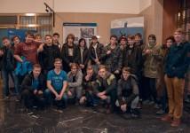Obrázek k aktualitě ZI4.A na exkurzi v ČNB Praha