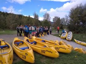 Vodácký kurz Vltava 2017
