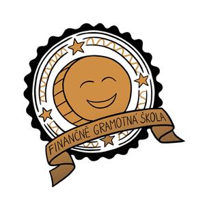 Logo Finančně gramotná škola