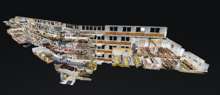3D prohlídka školy