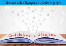 Obrázek k aktualitě 4. místo pro naši školu – Olympiáda v českém jazyce!