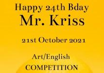 Obrázek k aktualitě Mr. Kriss celebrates 24th Bday and we compete.-))