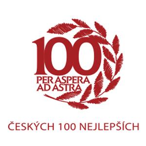 Logo Patříme mezi 100 nejlepších