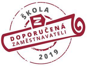 Logo ŠKOLA DOPORUČENÁ ZAMĚSTNAVATELI